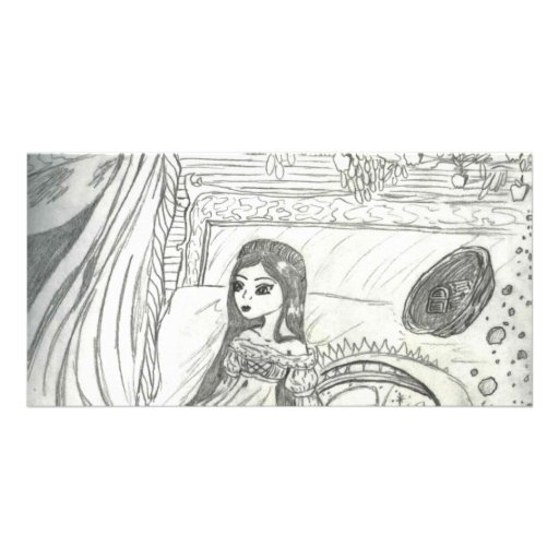 Princess Poem Card