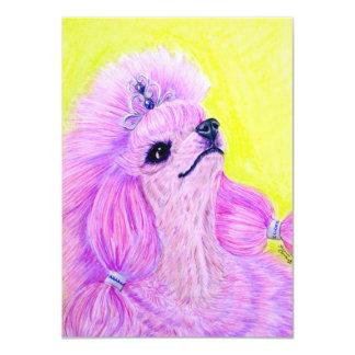 Princess Poodle Card