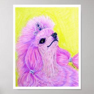 Princess Poodle Poster
