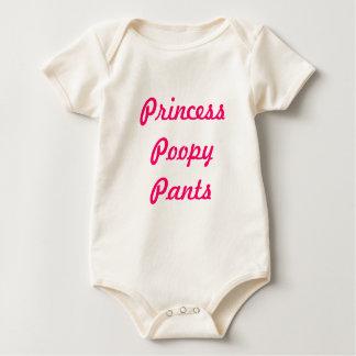 Princess Poopy Pants Baby Bodysuit