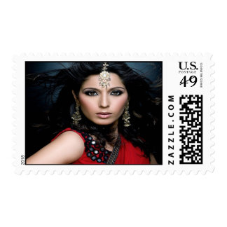 Princess Portraits Corp. Stamps (Red)