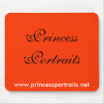 Princess Portraits Mousepad (Red)