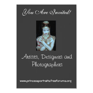 PRINCESS PORTRAITS STUDIOS INVITATION BY MAIL