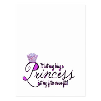 Princess Postcard