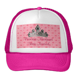 Princess Queen Crown Tiara Cap Trucker Hat
