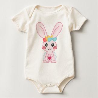 Princess Rainbow Baby Bodysuit