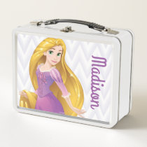 Princess Rapunzel Metal Lunch Box