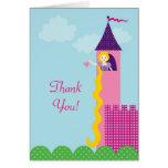 Princess Rapunzel Thank You Card