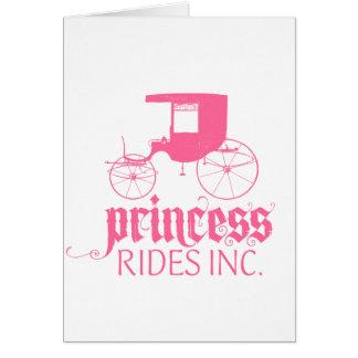 Princess Rides Inc. Card