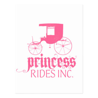 Princess Rides Inc. Postcard