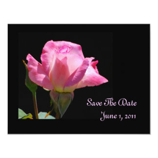 Princess Rose Save The Date Cards Personalized Invitations