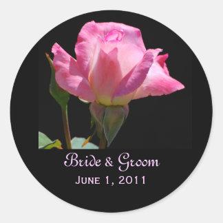 Princess Rose Wedding Stickers