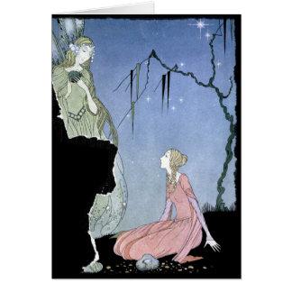 Princess Rosette and Fairy Card