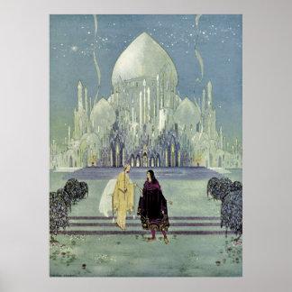 Princess Rosette by Virginia Frances Sterrett Posters