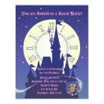 Princess Royal Birthday Party Invitation