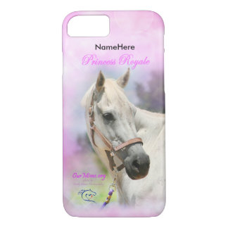 Princess Royale customizable iPhone 7 case
