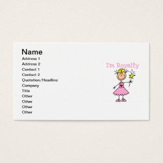 Princess Royalty Business Card