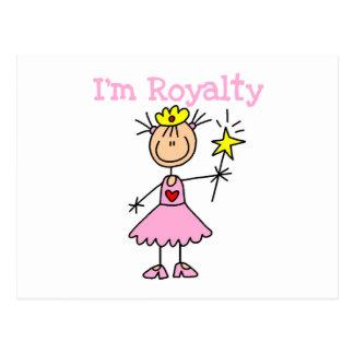 Princess Royalty Postcard