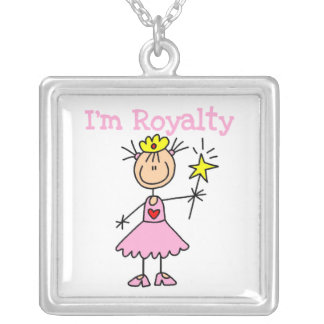 Princess Royalty Silver Plated Necklace