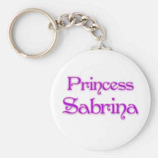 Princess Sabrina Keychain