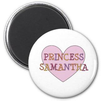 Princess Samantha Magnet