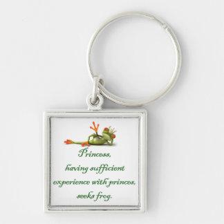 Princess Seeks Frog Premium Keychain