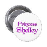 Princess Shelley 2 Inch Round Button