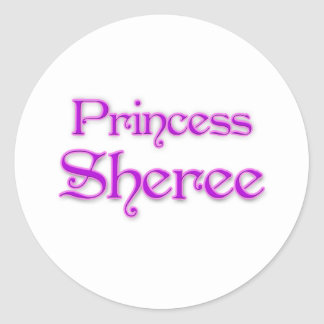 Princess Sheree Sticker