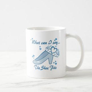 Princess Shoe Fits Coffee Mug