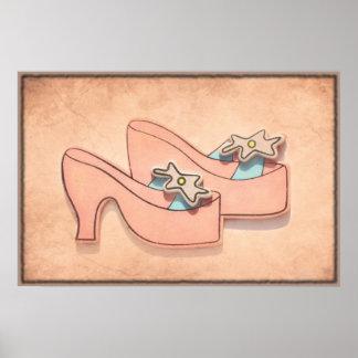 Princess shoes Poster