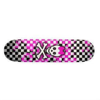 Princess Skull Girls Skateboard