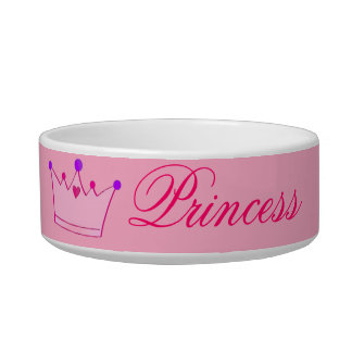 Princess small pet bowl