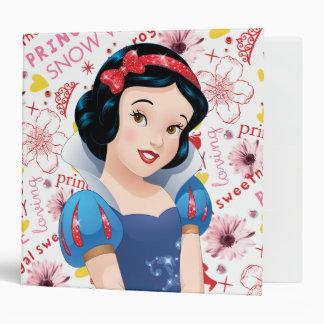 Princess Snow White Vinyl Binder