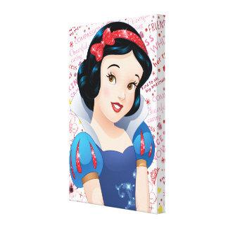 Princess Snow White Canvas Print