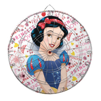 Princess Snow White Dartboard With Darts