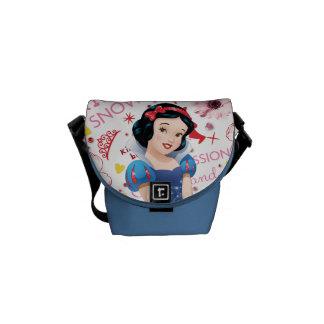 Princess Snow White Courier Bags