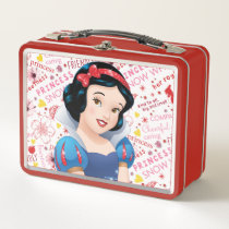 Princess Snow White Metal Lunch Box