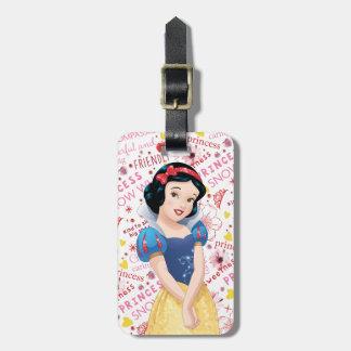 Princess Snow White Tag For Bags
