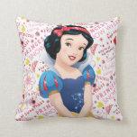 Princess Snow White Throw Pillow