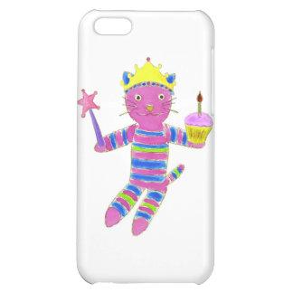 Princess Sock Kitty Cupcake iPhone 5C Case