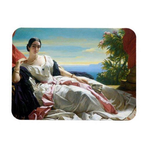 Princess Spanish style Rectangular Photo Magnet