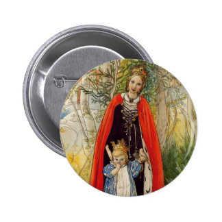 Princess Spring Mother and Daughter Button