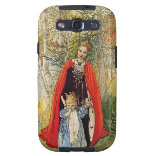 Princess Spring Mother and Daughter Samsung Galaxy S3 Case