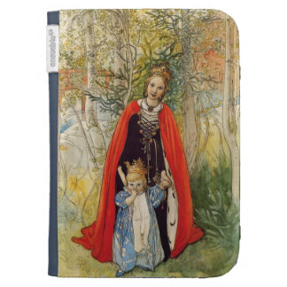 Princess Spring Mother and Daughter Kindle Folio Cases