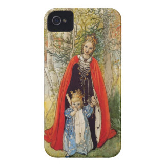 Princess Spring Mother and Daughter iPhone 4 Case