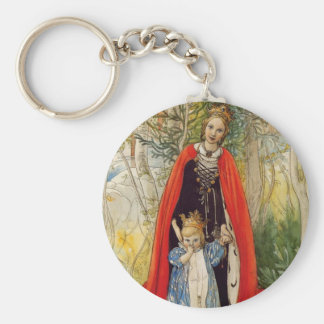 Princess Spring Mother and Daughter Key Chain