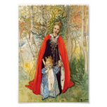 Princess Spring Mother and Daughter Photographic Print