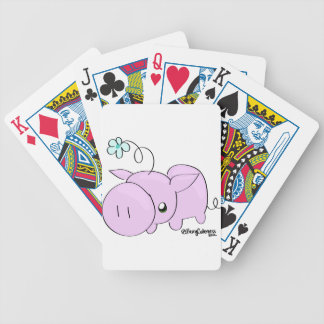 Princess Squiggle Bicycle Playing Cards