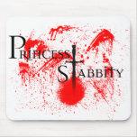 Princess Stabbity Mouse Pad