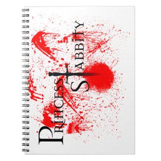 Princess Stabbity Notebook